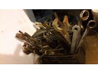 **HAND TOOLS**SPANNERS**ETC**SOLID METAL**FROM £1 EACH**