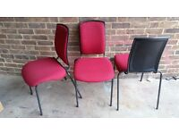 55 x stackable banquet / musician chairs in Nottingham