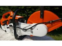 Stihl TS400 Cut off Saw ,Fully Rebuilt, Excellent condition.