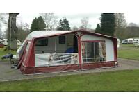 Dorema Montana Awning size 13 (950to975) with Annex and Isabella breathable flooring , £450ono