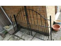 Wrought irons gates