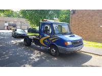2001 Recovery Truck LDV Convoy 2.5 Diesel ** Tow Bar ** Long MOT ** Double Axle