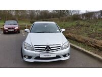 Mercedes-Benz C Class 2.1 C200 CDI Sport 4dr FULL AMG KIT+DRIVES AMAZING and PROFESSIONAL TINTS
