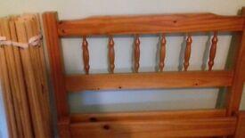 3ft pine bed base