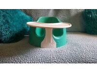 Bumbo baby play seat eating chair with play tray toy