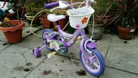 Disney girls bike