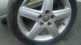 Audi Alloy with tyre