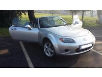 Mazda MX5 1.8 2006 29000 genuine miles from new with one lady owner and full service history