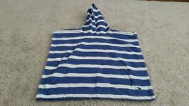 Boden hooded/poncho towel age 2-5 years