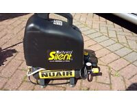 NUAIR SILENCED OM200/6 OIL FREE AIR COMPRESSOR FOR SALE AS NEW CONDITION!!