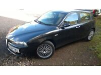 2007 ALFA 147 COLLEZIONE 1.6 T SPARK. NEW TIMING BELT / WATER PUMP JUST FITTED. MOT March.