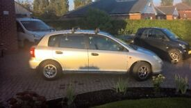 Honda Civic MAX - 2001 - 1.4L - Silver - Low Price - 8 Months MOT - Good Runner - Low Insurance