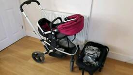 Mothercare Xpedior complete pushchair pram stroller