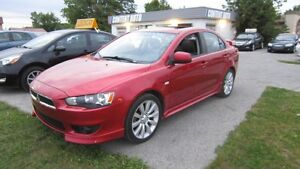2009 Mitsubishi Lancer GTS CUIR TOIT OUVRANT MAGS TOUT EQUIPE fi