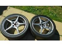"""18"""" vauxhall alloy wheels"""
