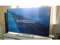 """Sharp 60"""" Smart 3D ULTRA slim TV with Wifi,Freeview HD,BBC IPLAYER, YOUTUBE,excellent condition"""