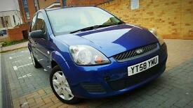 ((FORD FIESTA 1.25 LOW MILES!54k STYLE CLIMATE 5DR))
