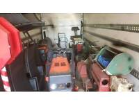 10 ride on lawnmowers all for spares or repair