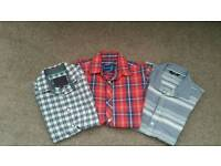 Boys triple short sleeve shirts
