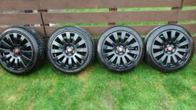 alloy wheels alloys 17 inch 5x112 vw, audi & possibly others