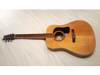Washburn D10S Acoustic Guitar ***** Well Played In.