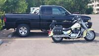 Awesome trade? Truck and bike For Harley or victory
