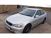 2002 02 LEXUS IS200 2.0 SE 6 SPEED GEARBOX ** ONLY 60000 MILES ** SERVICE HISTORY **