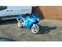 Kawasaki ninja zx6r low miles 600cc