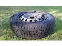 Vivaro/traffic spare wheel