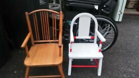 TWO CHILDREN'S' CHAIRS