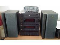 JVC COMPONENT STEREO SYSTEM MX- 50
