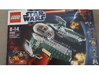 Lego Star Wars Anakin's Jedi Interceptor rare