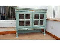 Solid Wood Sideboard, Bookcase,
