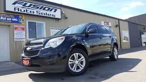 2013 Chevrolet Equinox LS-AWD-1 OWNER OFF LEASE-BLUETOOTH-FACTOR