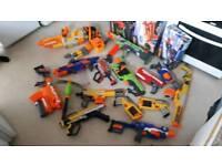 Bulk collection of nurf guns