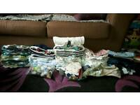 Bundle of boys newborn clothes 0-3m