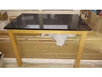 Granite top dining table from John Lewis