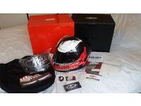 HJC Venom Marvel Helmet (XL)