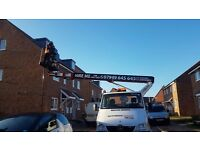 CHERRY PICKER TRUCK MOUNT FOR HIRE WITH OPERATOR LONDON AND ESSEX 24/7 .