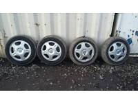"4x100 14"" Alloy wheels, corsa, combo etc"
