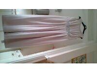 New Maxi evening dress in Blush