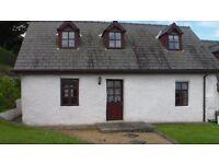 Character cottage in Aberaeron. Long let, GCH<DG garden parking sea views