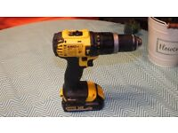 18V Dewalt DCD785 Combi Drill with New 1.5Ah Battery