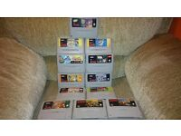 Snes Super Nintendo with 12 games