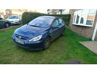 Peugeot 307 hdi Blue 53 plate