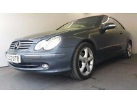 2004 | Mercedes-Benz CLK 3.2 Elegance | SAT NAV | LEATHER SEATS | SENSORS | ELECTRIC SEATS | MOT