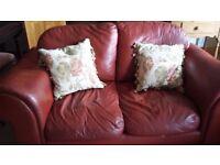 Quick sale leather sofas