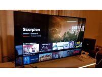 PANASONIC 55-inch Smart 3D 4K UHD LED TV,built in Wifi,Freeview & Freesat HD,fully working