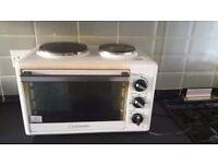 Working mini oven