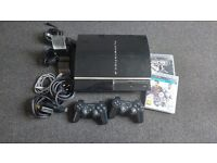 Playstation 3 PS3 40GB with games and accessories